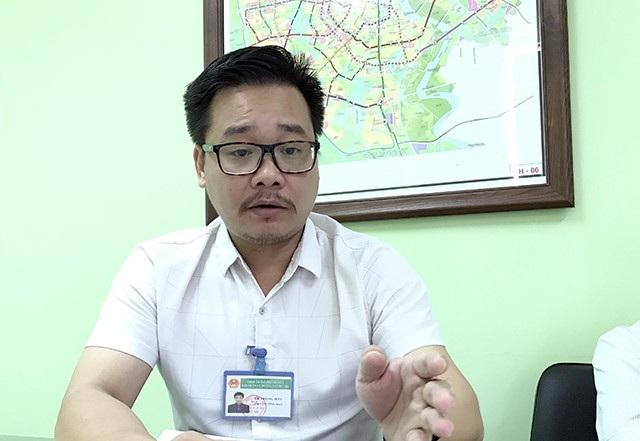 Ông Lê Trung Hiếu - Phó Ban Quản lý dự án đường sắt đô thị Hà Nội