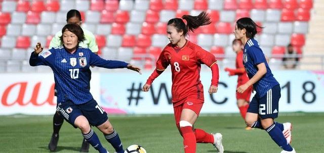 Đội tuyển nữ Việt Nam thua đậm Nhật Bản trong trận đấu thứ 2 của mình tại Asiad 2018