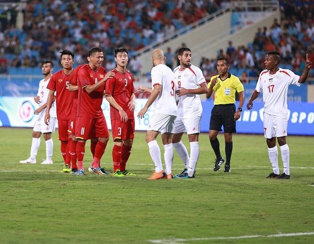 Olympic Việt Nam từng thắng Palestine 2-1 ở giải tứ hùng hồi đầu tháng 8/2018