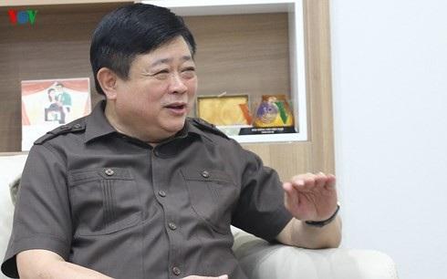 Tổng Giám đốc VOV Nguyễn Thế Kỷ. (Ảnh: Trọng Phú)