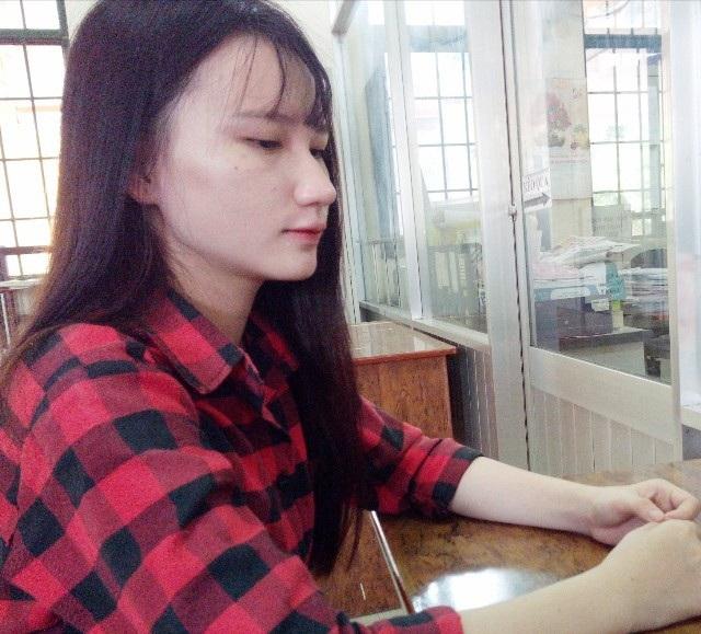 Em Võ Tiểu Thanh rất lo lắng cho những ngày sắp tới vào đại học.