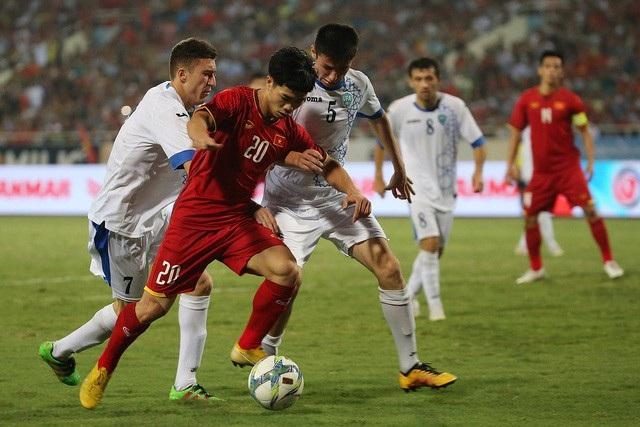 Nếu vượt qua tứ kết, Olympic Việt Nam có thể đụng những đối thủ rất mạnh như Uzbekistan, Hàn Quốc hoặc Iran