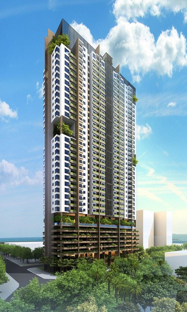 Phối cảnh tổng thể dự án FLC Green Apartment