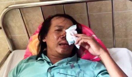 Anh Lâm Hồng Hạng được cấp cứu tại bệnh viện