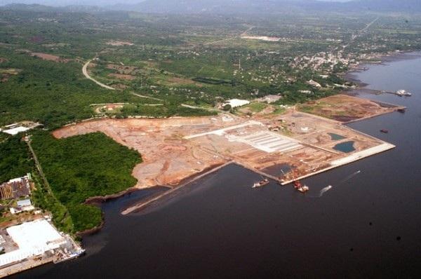 Cảng La Union của El Salvador (Ảnh: Taiwan News)