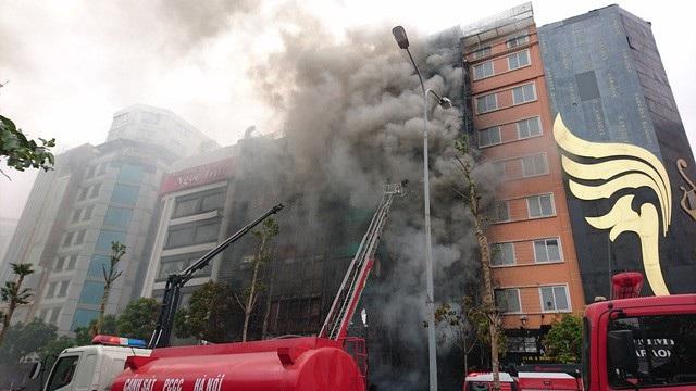 Sau vụ cháy trên đường Trần Thái Tông, Hà Nội đã đóng cửa nhiều quán karaokie không đảm bảo PCCC