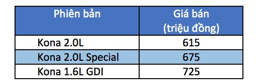 Hyundai Kona có mặt tại Việt Nam, giá từ 615 triệu đồng - 5
