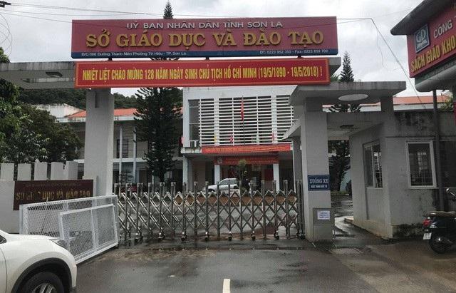 Sở Giáo dục và Đào Tạo Sơn La (Ảnh: Trần Thanh)