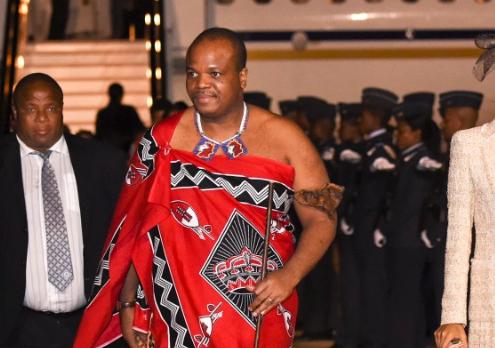 Quốc vương Eswatini Mswati III (Ảnh: GCIS)