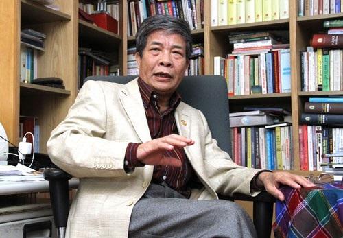 Giáo sư Ngô Đức Thịnh.