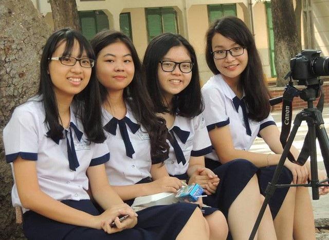 Học sinh Trường THPT Lê Quý Đôn, TPHCM - trường thực hiện theo mô hình tiên tiến