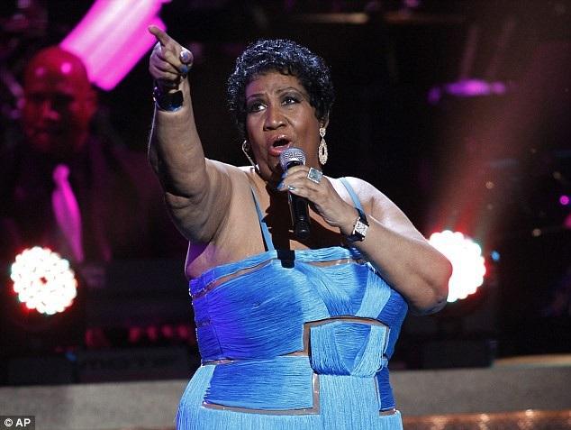 """""""Nữ hoàng nhạc soul"""" người Mỹ Aretha Franklin"""