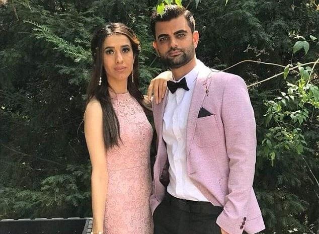 Emgái của Murad và chồng sắp cưới (Ảnh: Facebook)