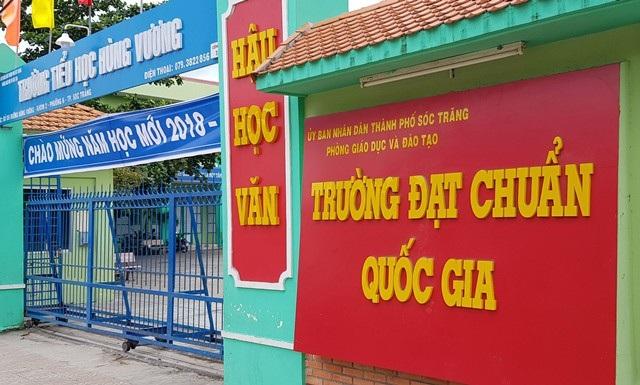 Trường Tiểu học Hùng Vương, TP Sóc Trăng, tỉnh Sóc Trăng.