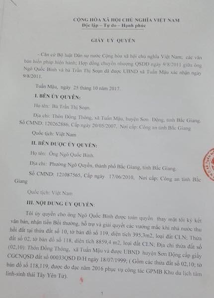Bắc Giang: Phó chủ tịch huyện phát hiện sai phạm hay vẽ ra chuyện để hành dân? - Ảnh 5.