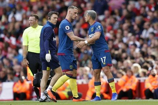 Mất Arnautovic khiến các đợt phản công của West Ham yếu hẳn đi