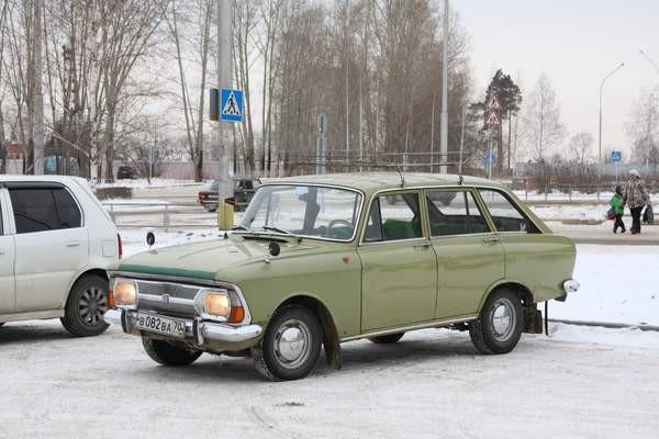Mẫu Izh 2125 rất được ưa chuộn ở Liên Xô cũ hồi thập niên 70 (Ảnh: Wikimedia Commons)