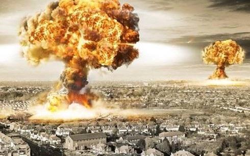 Hình ảnh minh họa về một cuộc tấn công hạt nhân vào đô thị. Ảnh: TectoGizmo.