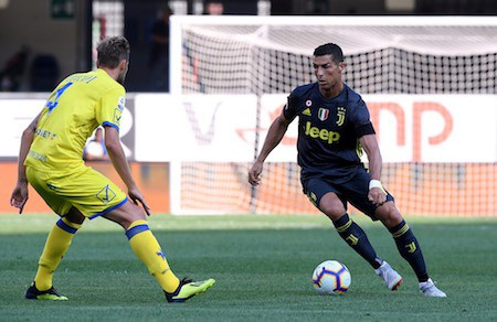 CR7 rất quyết tâm ghi bàn thắng đầu tiên trên đất Ý