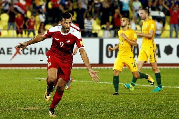 Đội tuyển Syria từng vào đến tận trận play-off tranh vé dự VCK World Cup 2018 - khu vực châu Á, với Australia
