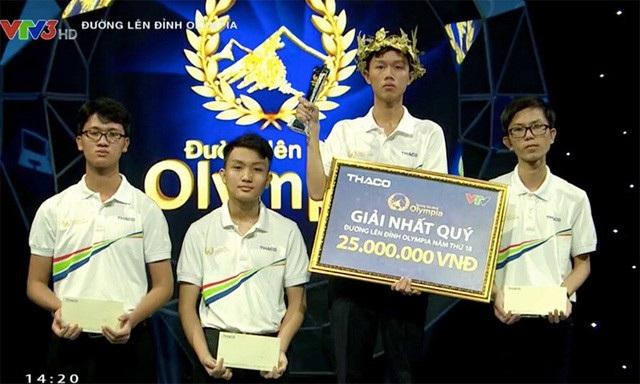 Tân Nhật giành chiến thắng ở cuộc thi quý, ghi tên mình vào trận chung kết năm Đường lên đỉnh Olympia thứ 18