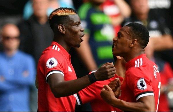 Pogba và Martial muốn lật ghế HLV Mourinho?