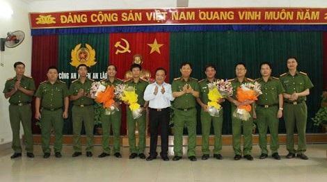Công An thành Phố Hải Phòng và huyện An Lão biểu dương lực lượng phá án.