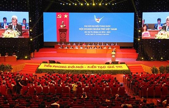 Đại hội đại biểu toàn quốc Hội Doanh nhân trẻ Việt Nam lần thứ 6, nhiệm kỳ 2018 - 2021.