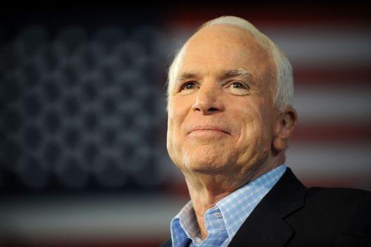 Thượng nghị sĩ Mỹ John McCain (Ảnh: AFP)