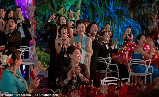 """Cảnh trong phim """"Con nhà siêu giàu Châu Á"""""""