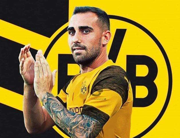 Paco Alcacer gia nhập Dortmund