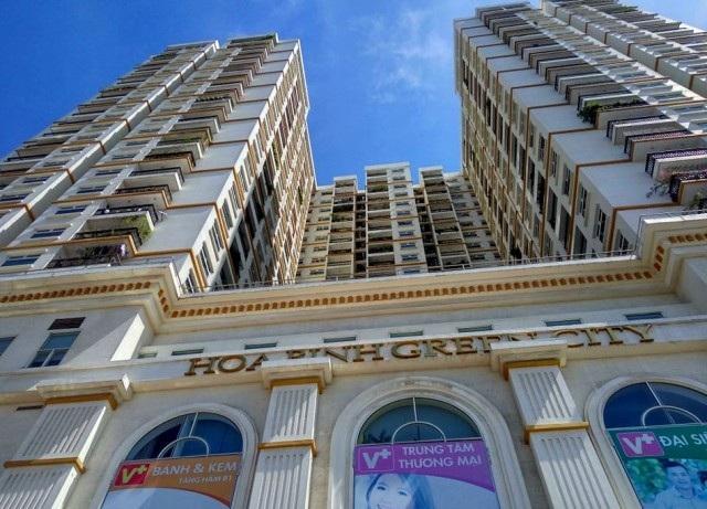Dự án Hòa Bình Green City là tổ hợp căn hộ chung cư cao cấp kết hợp trung tâm thương mại.
