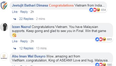 Người hâm mộ châu Á chúc mừng chiến tích lịch sử của Olympic Việt Nam - 4