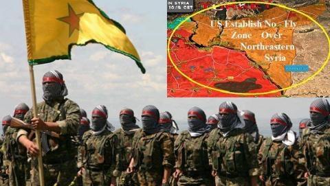 Mỹ quyết định lập vùng cấm bay ở khu vực do người Kurd kiểm soát