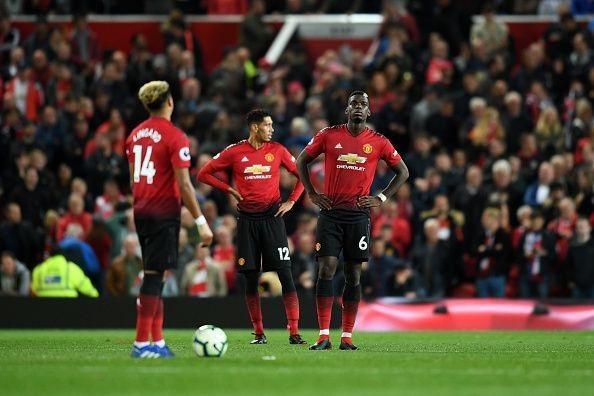 Man Utd hoàn toàn thất thủ ở hiệp 2 trước Tottenham