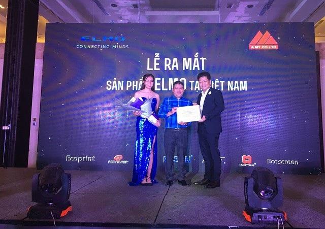 Máy chiếu vật thể - công nghệ hỗ trợ giáo dục tiên tiến của Nhật Bản đã có mặt tại Việt Nam - 1