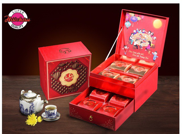 Thu Quý thượng hạng Hải Châu - Dòng sản phẩm bánh trung thu cao cấp, ấn tượng