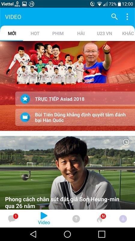 Thêm cách để xem trực tiếp trận Bán kết lịch sử của Olympic Việt Nam trên smartphone - 2