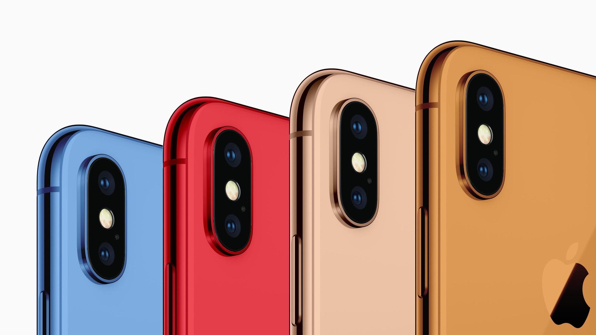 iPhone 2018 nhiều khả năng sẽ có màu mới.