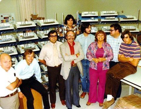 Những nhân viên đời đầu của Apple.
