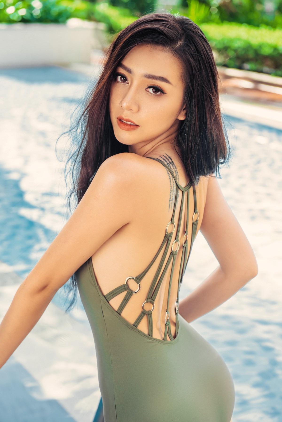 Người đẹp từng tâm sự diễn xuất như một cái duyên và trở về đóng phim với cô như cá về với nước.