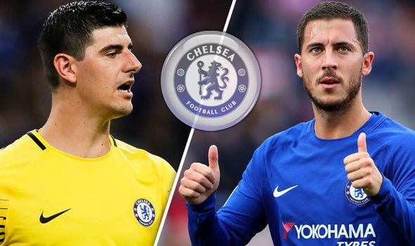 Chelsea quyết không để Courtois và Hazard sang Real Madrid