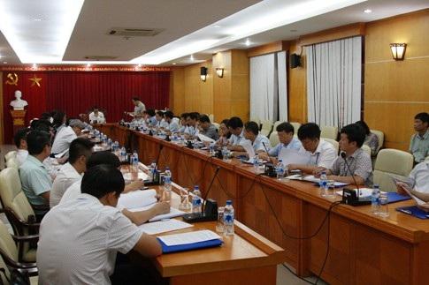 Buổi công bố quyết định thanh tra Công ty Lã Vọng diễn ra tại trụ sở Thanh tra Chính phủ sáng 3/8 (Ảnh: TTCP).