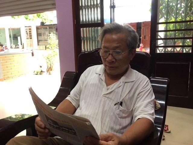 """Trong ký ức của ông Nguyễn Đăng Vinh, trú phường Hải Đình, TP Đồng Hới, theo học tại """"lớp Toán đặc biệt"""" là quãng thời gian không thể nào quên"""