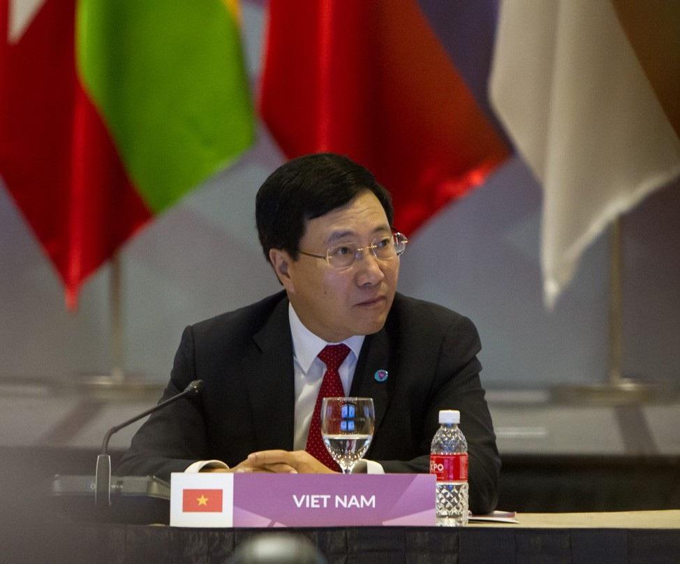 Phó Thủ tướng Phạm Bình Minh đồng chủ trì Hội nghị PMC ASEAN + Ấn Độ