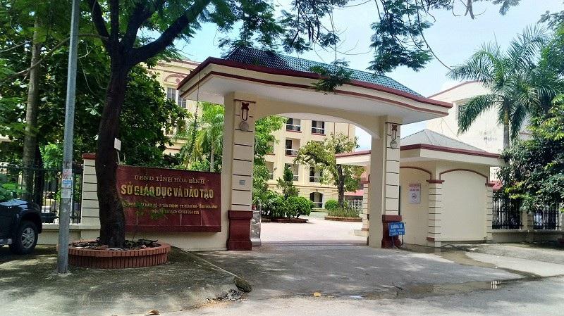 Sở Giáo dục và Đào tạo tỉnh Hòa Bình.