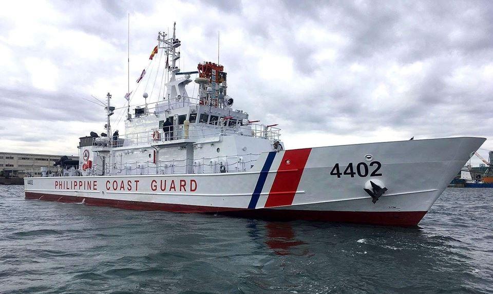 Tàu của lực lượng tuần duyên Philippines (Ảnh: Philippine Coast Guard)