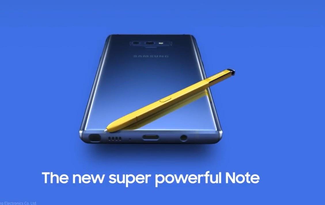 Sau hình ảnh chính thức, đến lượt video giới thiệu Galaxy Note 9 cũng bị Samsung vô tình đăng tải lên mạng