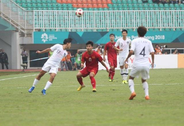 Olympic Hàn Quốc đã đánh trúng tử huyệt của Olympic Việt Nam