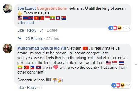 Người hâm mộ châu Á vẫn khen ngợi Việt Nam dù thất bại trước Hàn Quốc - 2